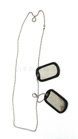 Collier Dog Tag